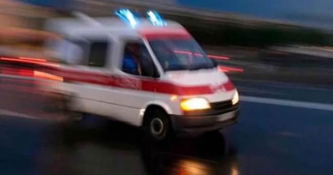Otobüsü kaçırınca ambulans çaldı