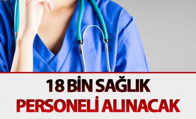 Sağlık Bakanı: Maliyeden izin çıktı, 18 bin sağlık personeli alınacak