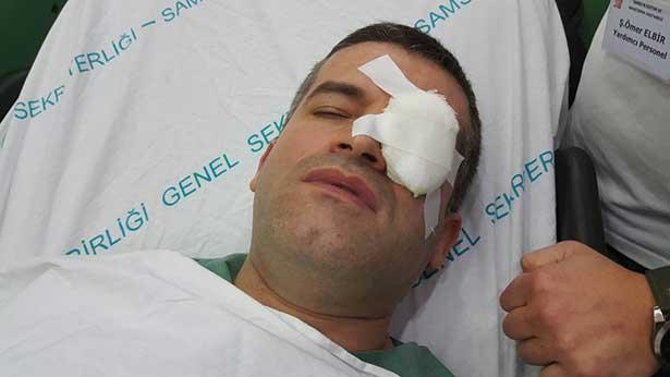 Silahla vurulan hastaya müdahale eden doktora saldırdılar