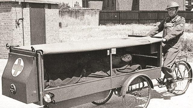 Tarihteki ilk ambulans