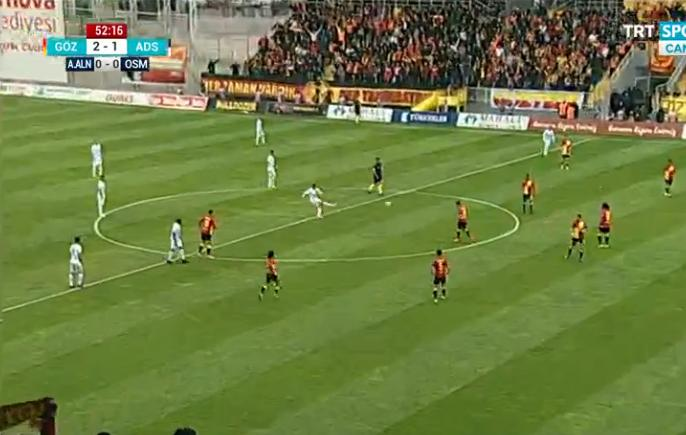 Türkiye bu golü konuşuyor! Rodallega yapamadı, Demirsporlu Tiago yaptı