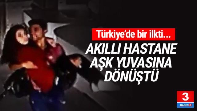 Türkiye'nin ilk akıllı hastanesi aşk yuvasına döndü