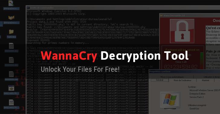 WannaCry Kurbanı PC'ler İçin Bir Çözüm Geldi: WanaKiwi
