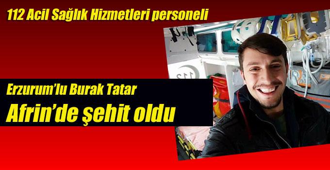 Zeytin Dalı operasyonuna gönüllü giden paramedik şehit oldu