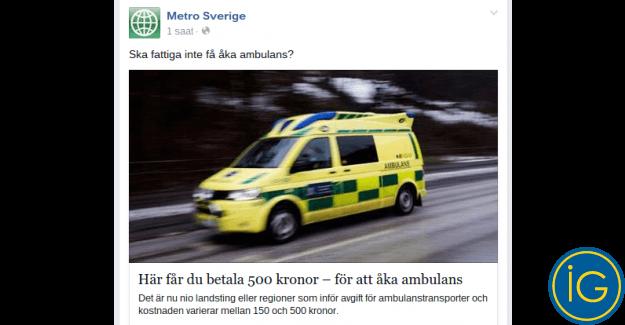 Ambulans paralı oluyor