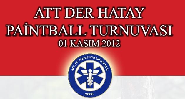 ATT DER Hatay Paintball Turnuvası
