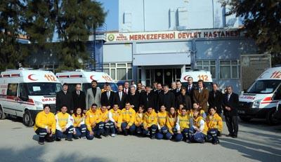 Yeni 112 Ambulansı Hizmete Girdi