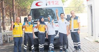 112 Acil Servis dünya birincisi