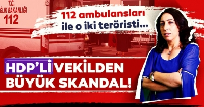 112 Acil Servis'i PKK'lılara tahsis etmiş!