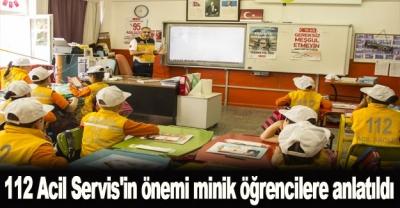 112 Acil Servis'in Önemi Minik Öğrencilere Anlatıldı