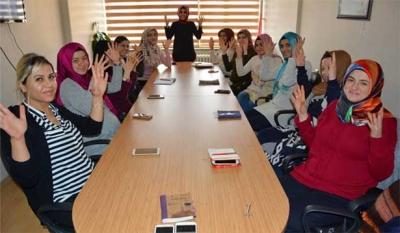 '112 Dinlemede' projesinde, İşaret dili eğitimleri başladı