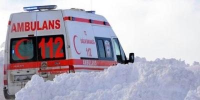 112 ekipleri yeni yılı görevleri başında karşılıyor