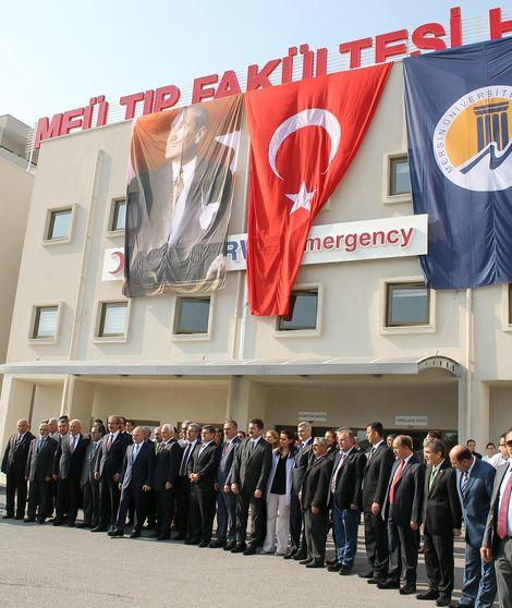 14 yılda tamamlanan hastane açıldı!