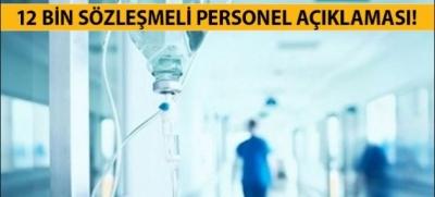 12 Bin Sağlık Personeli Atanacak