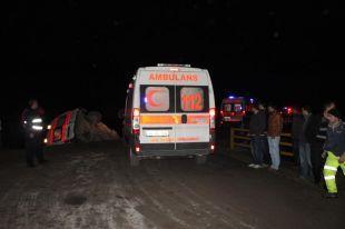 Bursa 112 Ambulansı kaza yaptı