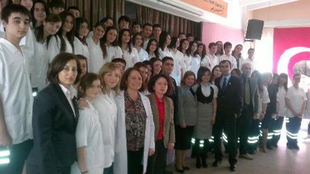 Haydarpaşa Bülent Akarcalı SML de Meslek Andı Töreni