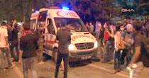 Ambulans personelinin yaralıya ulaşma çaresizliği