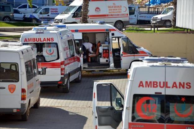 Adana Yeni Ambulans Yandı Diğerleri de Hizmetten Çekildi