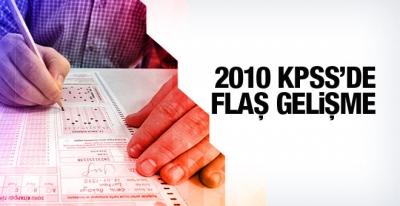 2010 KPSS'de Flaş Gelişme Kopyacılar...