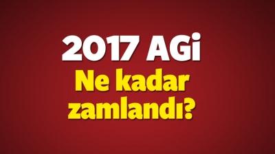 2017 Yılı Asgari Geçim İndirimi (AGİ) Tutarları Belli Oldu