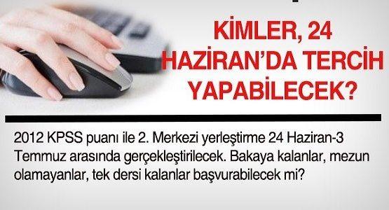 Kimler KPSS 2013/1 atamlarına başvurabilir