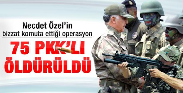 75 PKK'lı öldürüldü