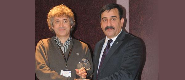TSS'den Prof. Dr. Ömer Özkan'a Yılın Doktoru Ödülü