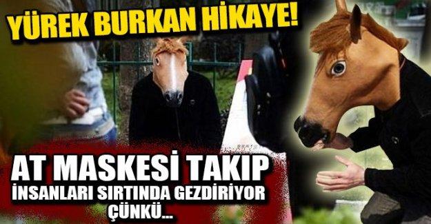 At maskesi takan adamın, yürek burkan hikayesi!