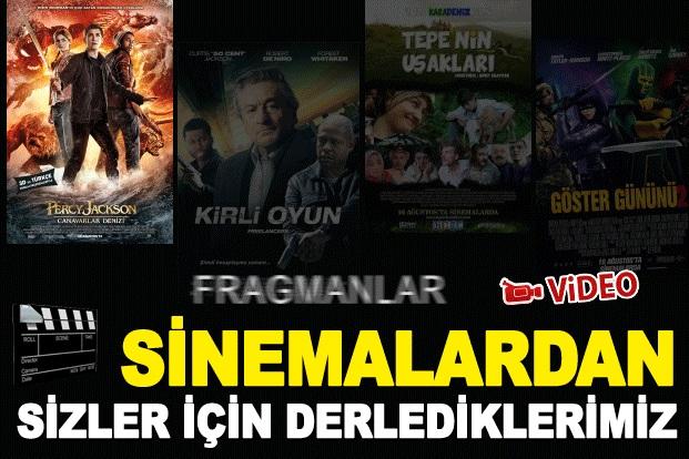 Sinemalarda vizyona giren filmler 15 Ağustos 2013..FRAGMAN İZLE