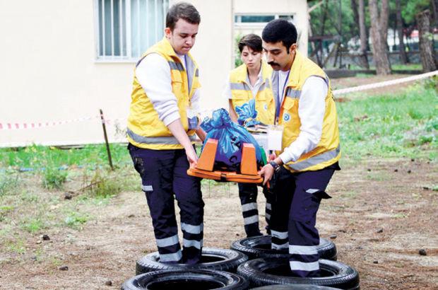 '2. Ulusal Üniversiteler Arası Ambulans Rallisi' başladı