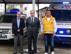 İlk Ambulans Giresun Ticaret Borsasından