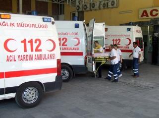 Sağlık ekiplerinin 5 saatlik mücadelesi hastayı kurtardı