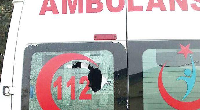 Ambulans yakanlara susup geciken hastaneyi sordu!