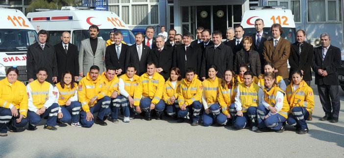 Manisa'da 7 yeni ambulans hizmete girdi