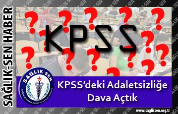 KPSS'deki Adaletsizliğe Dava