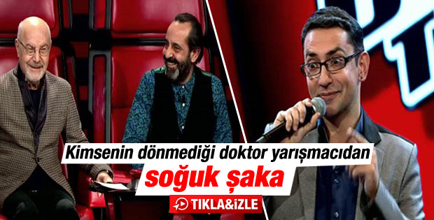 O Ses Türkiye'de doktor yarışmacıdan jüriye soğuk şaka