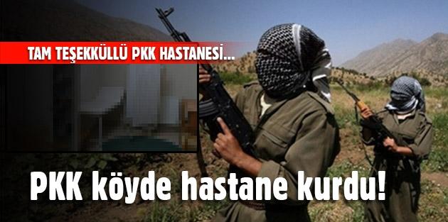PKK köyde hastane kurdu