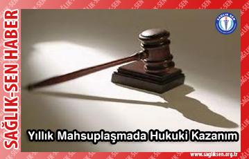 Yıllık Mahsuplaşmada Hukuki Kazanım