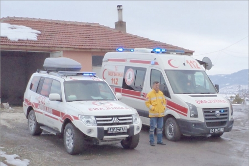 Ambulans çilesi bitti