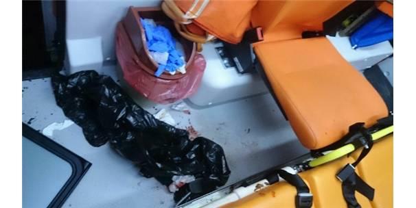 Sarıcakaya'da 112 Acil Ekibine Saldırı