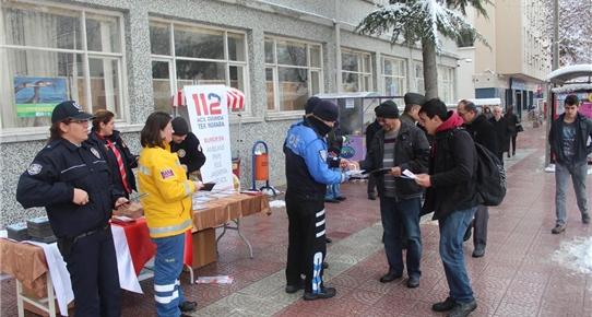 Burdur 112 Çağrı Merkezi, vatandaşları bilgilendirdi