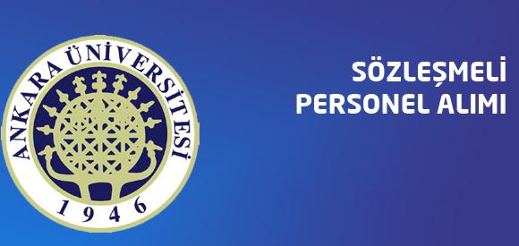 Ankara Üniversitesi 115 Sözleşmeli Sağlık Personeli Alım İlanı!