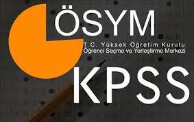 2013/2 KPSS tercih kılavuzu değişikliği!
