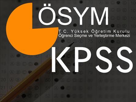 2014 KPSS Ortaöğretim Yerleştirmesi Taban ve Tavan Puanları