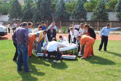 Kazazede Doktor İzmir'e Sevk Edildi