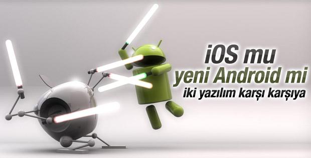 iOS 8 ve Android 5.0 Lollipop karşılaştırması
