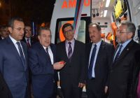 DTO'DAN Sağlık Müdürlüğü'ne Ambulans