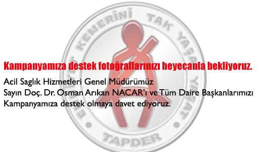 TAPDER'den Sağlık Bakanlığına Kampanyaya Destek Çağrısı
