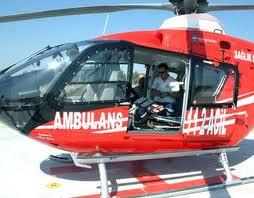 Sinop'ta Hamile Kadının İmdadına Helikopter Ambulans Yetişti