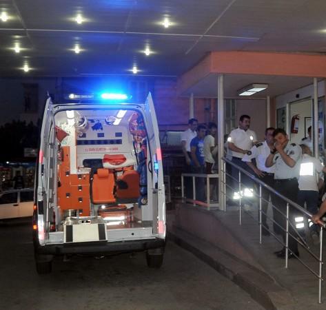 Nazilli'de 112 personelleri darp edildi